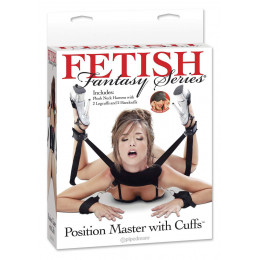 Фиксатор для рук и ног Fetish Fantasy Series Position Master With Cuffs (Pipedream)